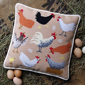 Chickens Cushion Kit