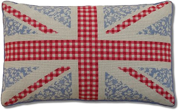 Floral Union Jack Cushion Kit