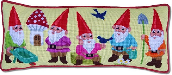 Garden Gnomes Tapestry Kit