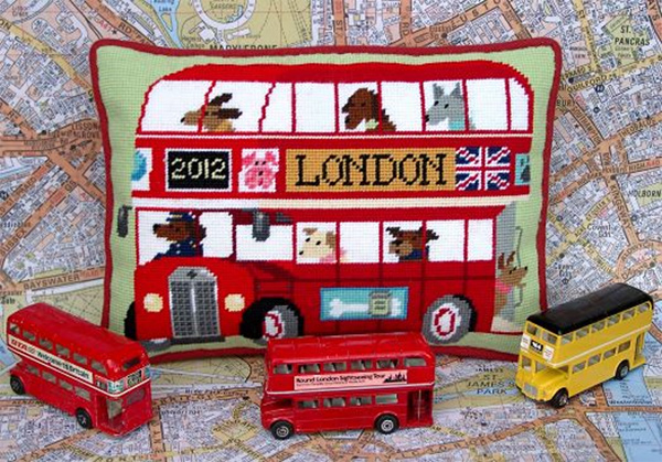 London Bus Cushion Kit