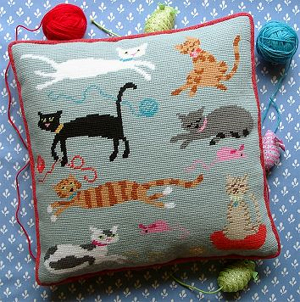 Moggies Cushion Kit