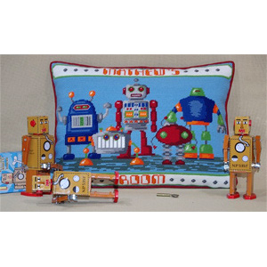 Robots Cushion Kit