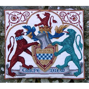 Medieval Coat of Arms Tapestry Kit