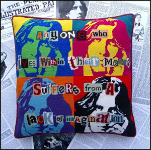 Pop Art Oscar Wilde Cushion Kit