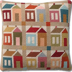 Shaker Schoolhouse Patchwork Tapestry Kit