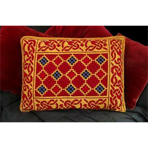 Sutton Hoo Celtic Interlace Design Cushion Kit
