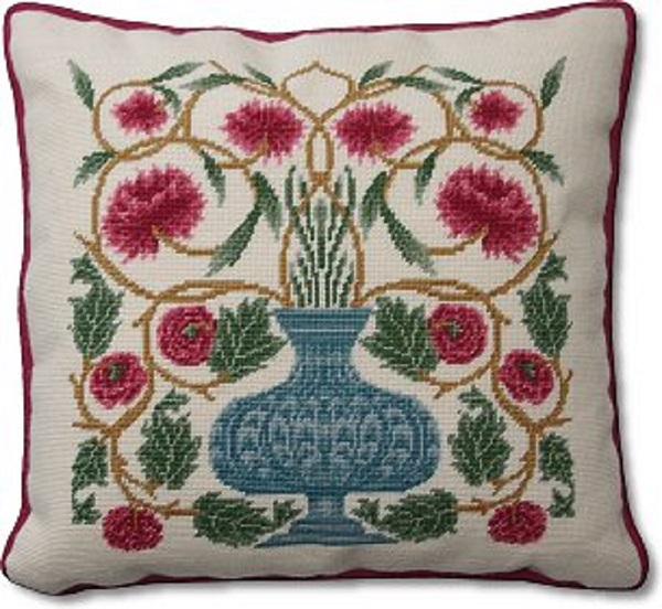 William Morris Flowerpot Cushion Kit