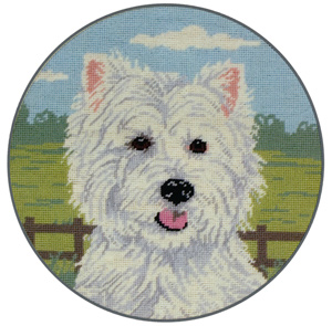 West Highland Terrier - Anchor Needlepoint Tapestry Kit
