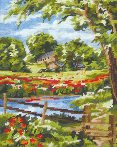 Summer Scene - Anchor Needlepoint Tapestry (or Cushion) Kit