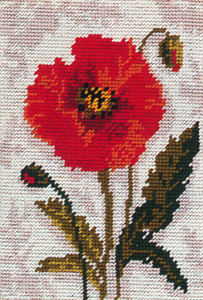 Poppy - Anchor Needlepoint Kit
