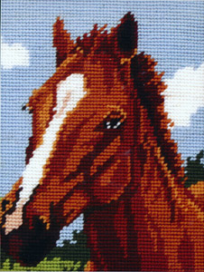 Horse - Anchor Needlepoint Kit