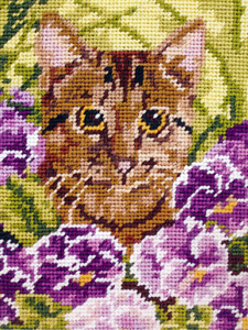 Cat - Anchor Needlepoint Kit