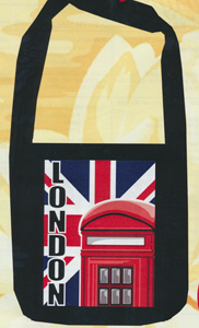 Margot Creations de Paris Needlepoint Shopping Bag Kit - London