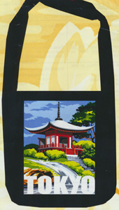 Margot Creations de Paris Needlepoint Shopping Bag Kit - Tokyo