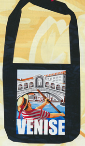 Margot Creations de Paris Needlepoint Shopping Bag Kit - Venice