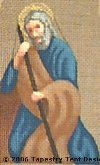 Joseph Hand-Painted Needlepoint Canvas