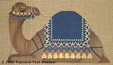 Camel #1 Hand-Painted Needlepoint Canvas