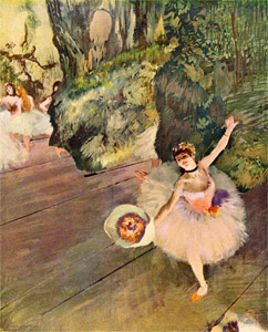 Dancer Taking a Bow, Edgar Degas