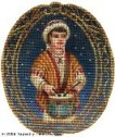 Drummer Boy Hand-Painted Needlepoint Canvas