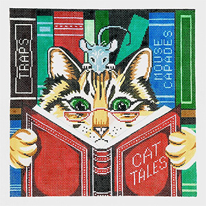 Cat Tales Hand-painted Canvas