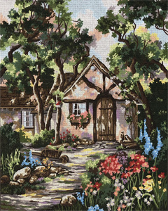 Gretel's Cottage by Marty Bell