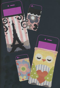 Phone Holders - Anchor iStyle Needlepoint Kits (2 kits included)