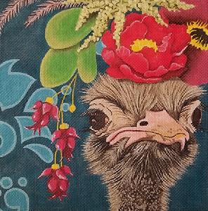 All Dressed Up Koala Hand Painted Needlepoint Canvas