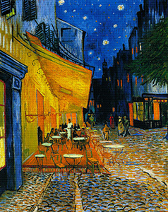 Cafe Terrace on the Place du Forum, Van Gogh