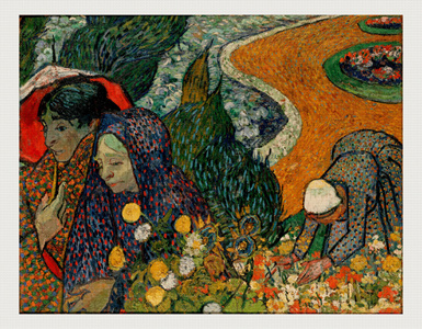 Memory of the Garden at Etten (Ladies of Arles) by Vincent van Gogh