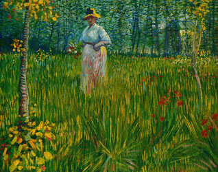A Woman in the Garden, Vincent van Gogh