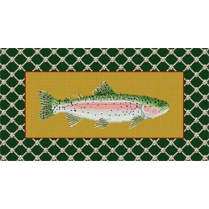 Susan Roberts Needlepoint Designs - Rainbow Trout