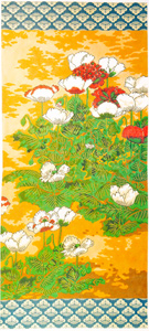 Oriental Poppy Hand-painted Wall Hanging Canvas