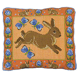 Animal Fayre Needlepoint Cushions Kit - Teasel