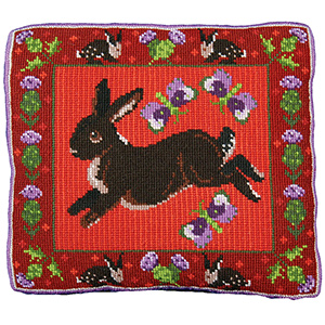 Animal Fayre Needlepoint Cushions Kit - Thistle