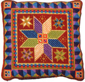 Animal Fayre Cushions Kit - Small Star Tile