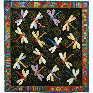 Animal Fayre Needlepoint Tapestry - Dragonfly Dance