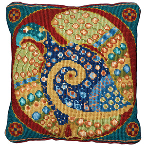 Animal Fayre Needlepoint Cushions Kit - Eagle