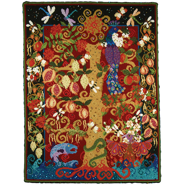 Animal Fayre Needlepoint Tapestry - Tree of Life