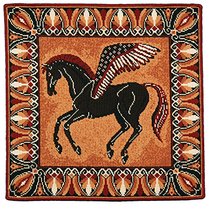 Animal Fayre Needlepoint Tapestry - Pegasus