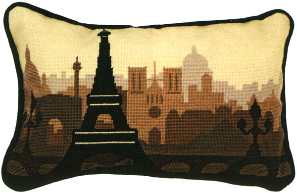 Paris Needlepoint Cushion Kit from the Anchor Living Collection