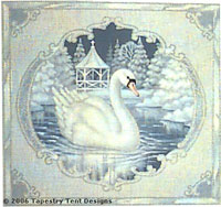 Swan - From Tapestry Tent by Liz Goodrick-Dillon