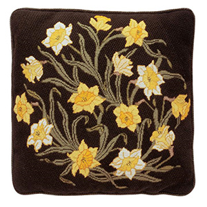 Beth Russell Needlepoint - Flowers Collection - Daffodils Cushion - Kit