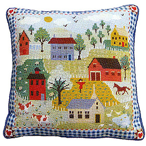 Primavera Needlepoint Cushion Kit - Shaker Village