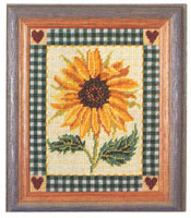 Primavera Needlepoint Picture Kit - Shaker Sunflower