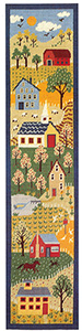 Primavera Needlepoint Wallhanging Kit - Shaker Wallhanging