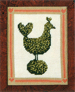 Primavera Needlepoint Picture Kit - Topiary Hen
