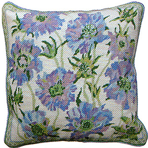 Primavera Needlepoint Cushion Kit - Fresh Summer Breeze