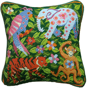 Primavera Cushion Kit - Jungle Scene