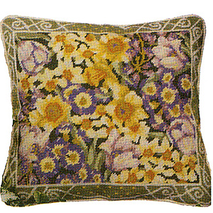 Primavera Needlepoint Cushion Kit - Lady Spring