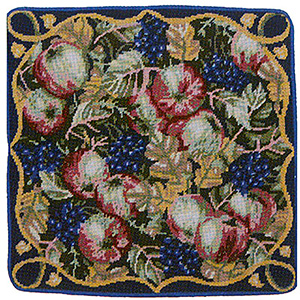Primavera Needlepoint Cushion Kit - Windfalls